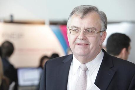 Victor Rod a été un de ceux qui ont contribué, en 1994, à la création de l'IAIS. (Photo: Luc Deflorenne / archives)
