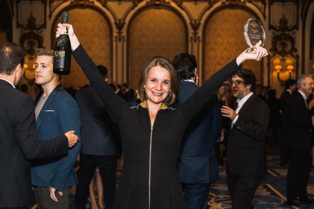 Après avoir été récompensée il y a deux mois, lors des Trophées des Français de l'étranger, Virginie Simon rafle à nouveau la mise ce mois-ci. (Photo: Octamedia)