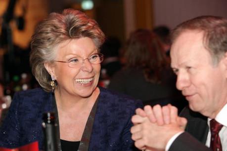 L'ancienne commissaire européenne Viviane Reding est fort demandée par le monde des entreprises. ( Photo : Luc Deflorenne / archives)