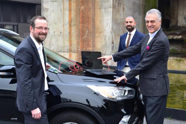Les chercheurs du Critix, groupe de recherche du SnT, vont rejoindre la mission d'Icri-Cars qui regroupe cinq universités européennes. (Photo: Université du Luxembourg)