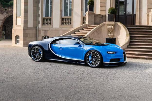 Une fois débridée, la Bugatti Chiron pourrait peut-être dépasser la vitesse absolue sur route, enregistrée par le Guinness à 431,072 km/h. (Photo: Bugatti)