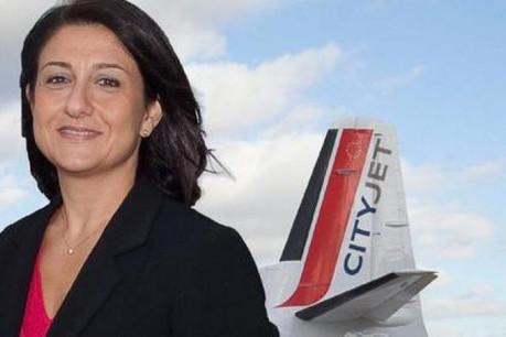 Christine Ourmières (CityJet): «Le comportement des voyageurs est difficilement prévisible. Ils se décident souvent tard.» (Photo: CityJet)