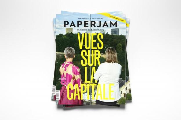 À trois mois des élections communales du 8 octobre, Paperjam est allé à la rencontre de la bourgmestre, Lydie Polfer (DP), et de la première échevine, Sam Tanson (Déi Gréng). (Photo: Maison Moderne)