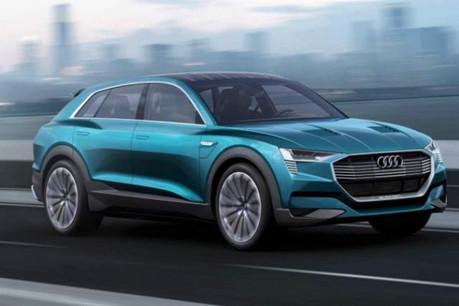L'Audi e-tron: le SUV électrique de la marque aux anneaux attendu pour 2018. (Photo: Audi)