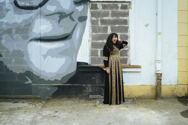 Wafaa, journaliste de Palestine: «Écrire ce que j'ai vu m'était impossible.» (Photo: Sven Becker)