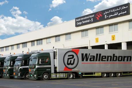 Après Sharjah (Émirats Arabes Unis), au printemps, Wallenborn souhaite pousser plus loin son développement international. (Photo: Wallenborn Transports)