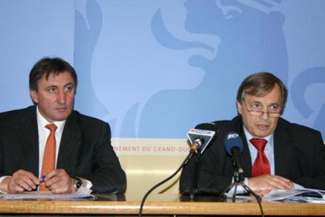 Jean-Marie Halsdorf et Jeannot Krecké sont dispensés de poursuites judiciaires par leurs pairs. ( Photo : guichet-public.lu )