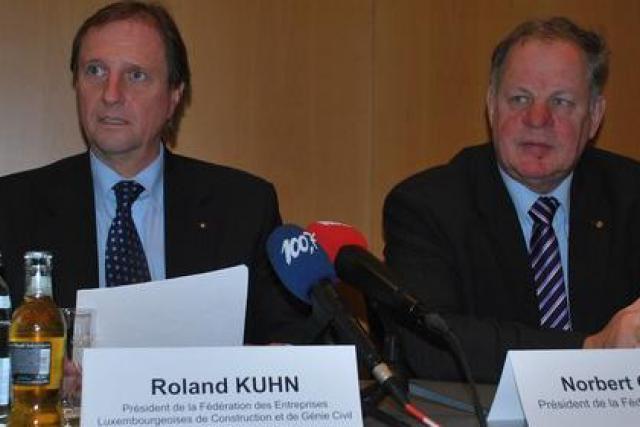 Roland Kuhn (à gauche): «Notre ambition est de séduire une nouvelle clientèle.» (Photo: Michaël Peiffer)