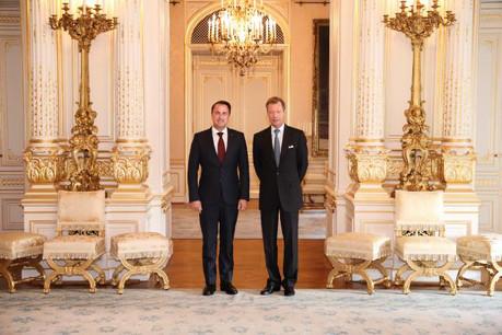 Xavier Bettel, nommé formateur du nouveau gouvernement, devrait également conserver son poste de Premier ministre. (Photo: Cour grand-ducale / Sophie Margue)