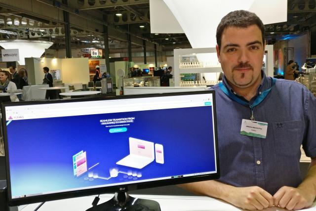 Alfonso García Frey: «J'ai toujours vécu dans l'univers des codeurs. J'ai pu constater, grâce à beaucoup d'amis du secteur, le caractère laborieux du développement informatique pour la partie graphique des sites internet et des applications mobiles.» (Photo: DR)
