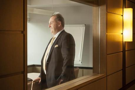 Yves Stein, Group CEO de KBL epb, eplique la stratégie mise en place par la banque luxembourgeoise et ses actionnaires qataris. ( Photo: Julien Becker / archives )
