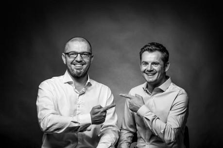 Fabian Collot et David Gavroy, respectivement fondateurs de z6creation et de Noosphere. (Photo: Noosphère)
