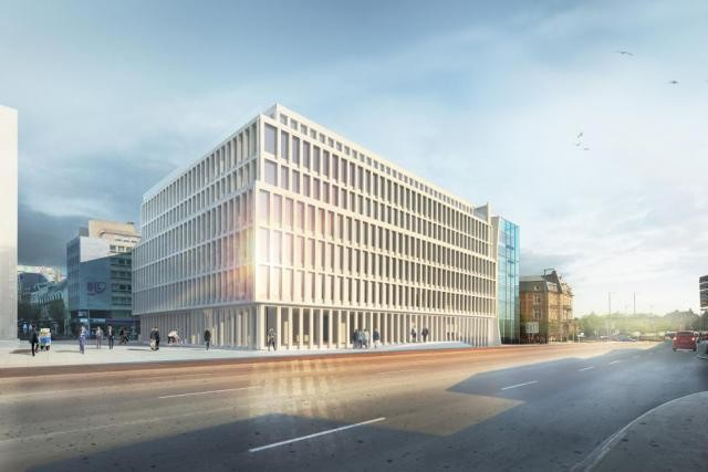 Le nouveau bâtiment ouvrira ses portes à la fin de l'année 2018. (Photo: Atelier d'architecture et de design Jim Clemes)