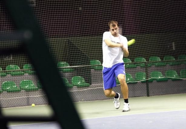 Gilles Muller practicing in 2011  Olivier Minaire (archives)