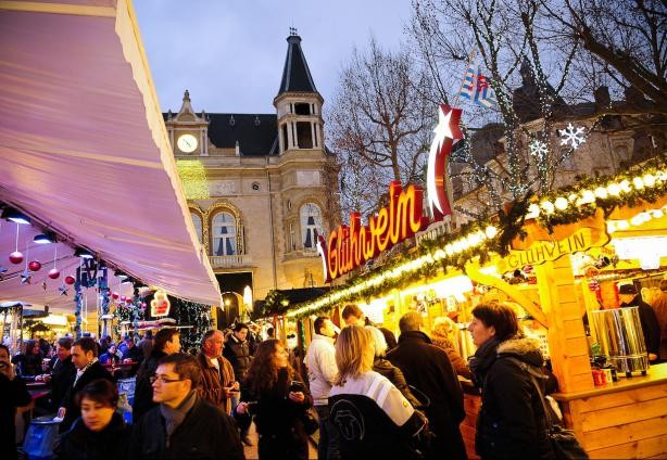 Share seasonal cheer with friends and family at the Christmas markets  David Laurent