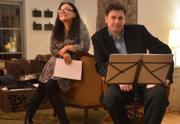 Louisa Graf and Timothy Lone read Love Letters  Actors Rep