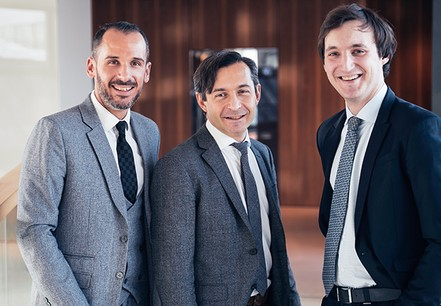 Kevin D'Antonio, Senior Manager, Advisory Services, Brice Lecoustey, Partner, Advisory Services, Tun Feltes, Consultant, Advisory Services, EY Luxembourg. (Crédit: EY Luxembourg)