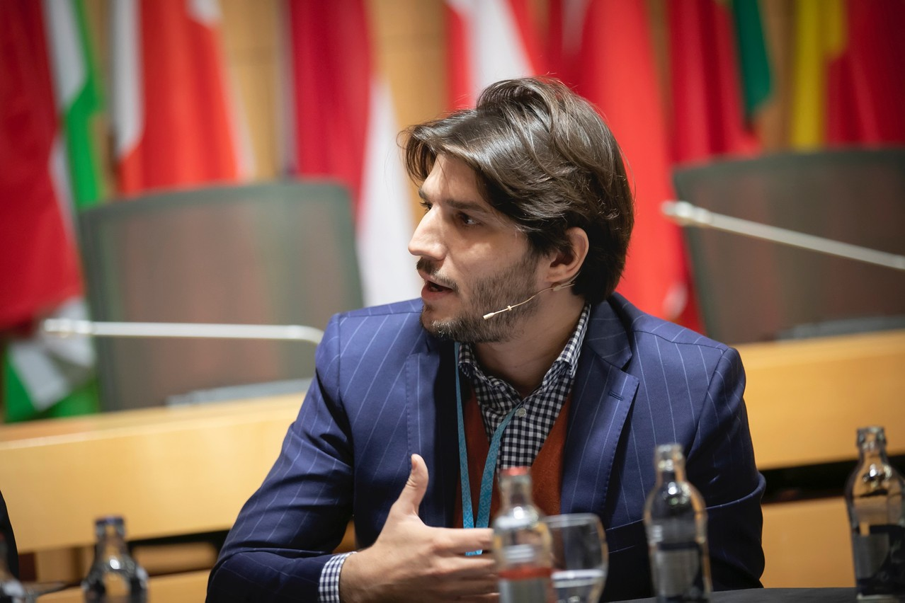 Le CEO de Next Gate Tech, Davide Martucci, va pouvoir profiter du boom de la digitalisation du secteur financier pour pousser sa solution pour les fonds d'investissement. (Photo: Next Gate Tech)