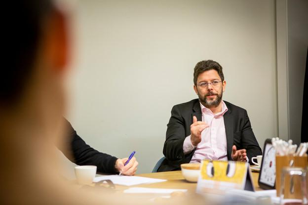 Le directeur de la Confédération luxembourgeoise du commerce, NicolasHenckes, déplore le manque d'écoute des politiques aux signaux d'alerte envoyés. (Photo: Maison Moderne/archives)