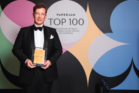 Nicolas Mackel est à la tête de Luxembourg for Finance depuis 2013. Il est reconnaissant envers son équipe, ses actionnaires et l'ensemble des acteurs de la place financière. (Photo: Julian Pierrot/Maison Moderne Publishing SA)