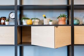 Le mobilier est simple et élégant. ((Photo: Patty Neu))