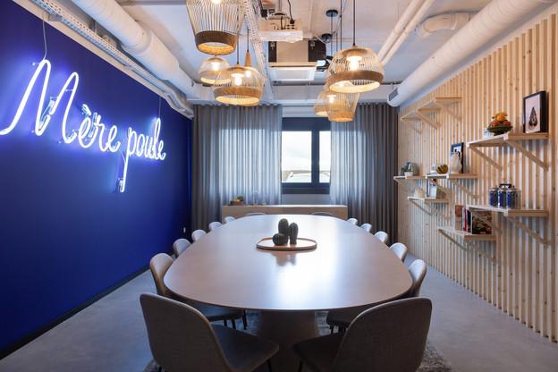 Le siège de Cocottes a été conçu par EL'LE Interior Stories. (Photo: Patty Neu)