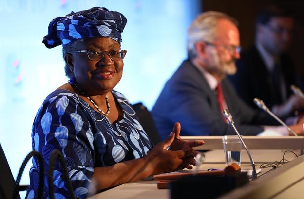 L'économiste nigérianeNgoziOkonjo-Iweala accèdera, le 1er mars, à la direction de l'OMC. (Photo: WTO/Jay Louvion)