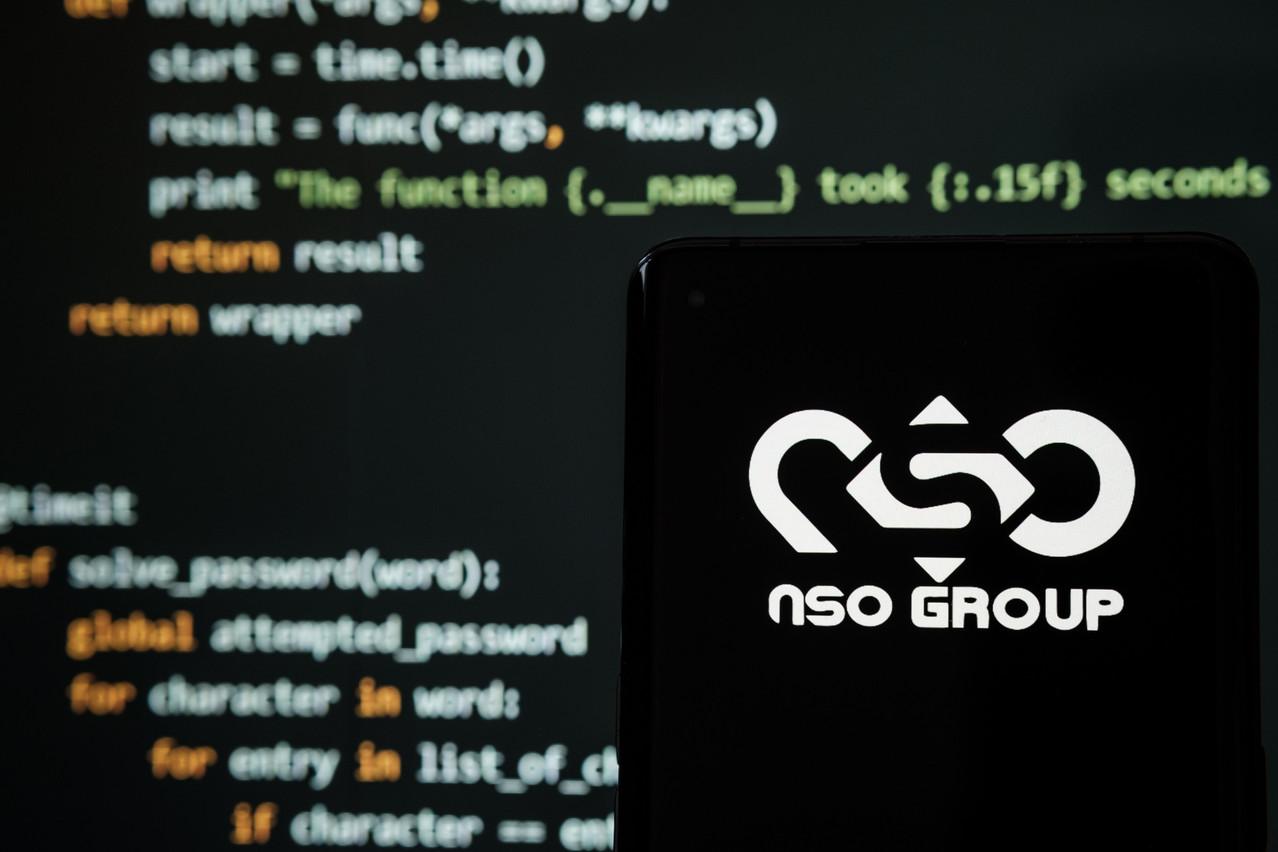 Illustration photo of NSO Group logo. Shutterstock.