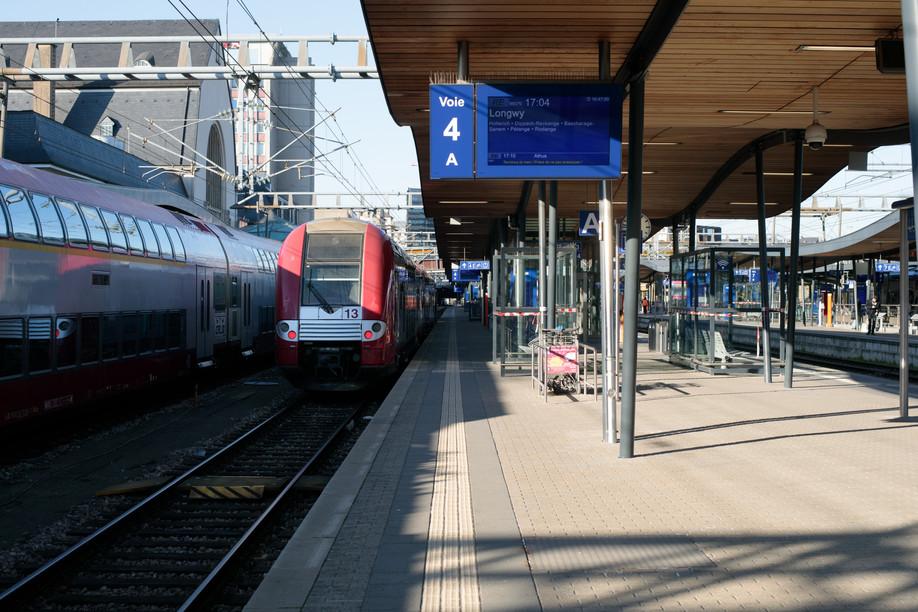 Luxembourg City's train station Photo: Matic Zorman