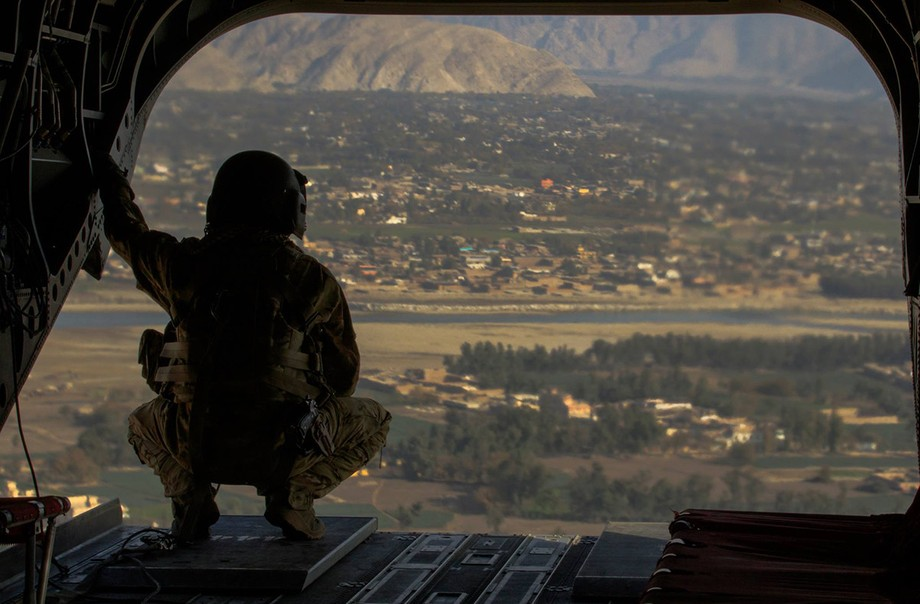 """""""There was no preparation. I think there was a lot of hope, ultimately vain, that the Taliban were honest in their willingness to negotiate with the other parties in Afghanistan,"""" explains Dorothée Vandamme. (Illustration: US Army/Kellen Stuart/Flickr)"""