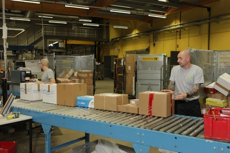 Post Luxembourg s'attend à une fin d'année record avec près de 700.000 colis livrés par mois. (Photo: Maison Moderne / Archives)