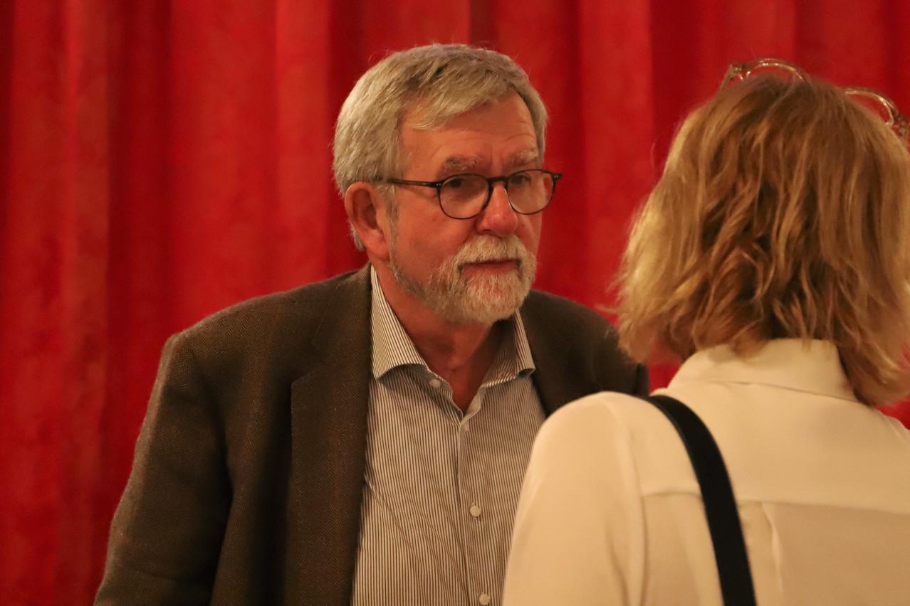 Jeannot Waringo a coordonné le travail d'une équipe multidisciplinaire de huit spécialistes. (Photo: Chambre des députés)