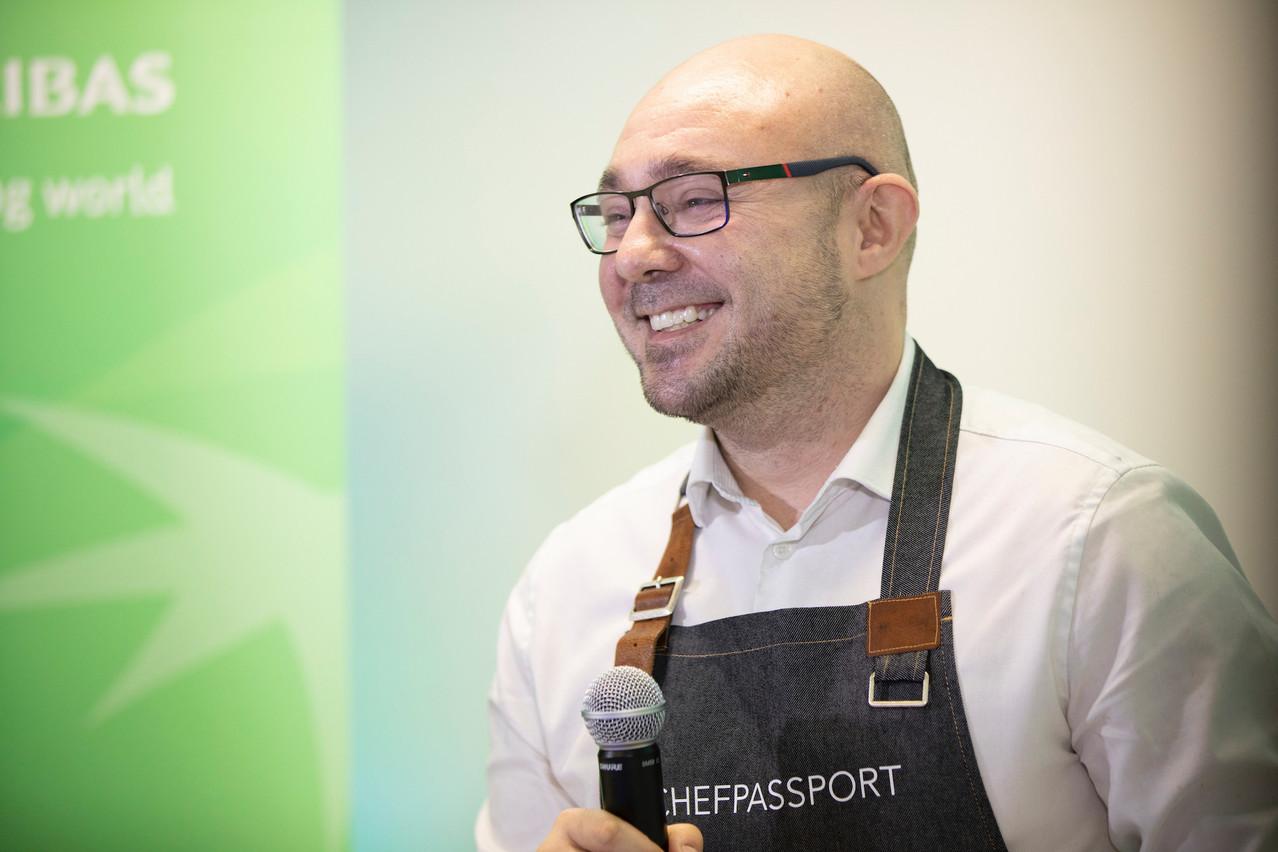 Développeur pendant 20ans, MatteoRessa s'était promis d'avoir un jour sa propre start-up. ChefPassport est sur de bons rails. (Photo: SimonVerjus/Maison Moderne)