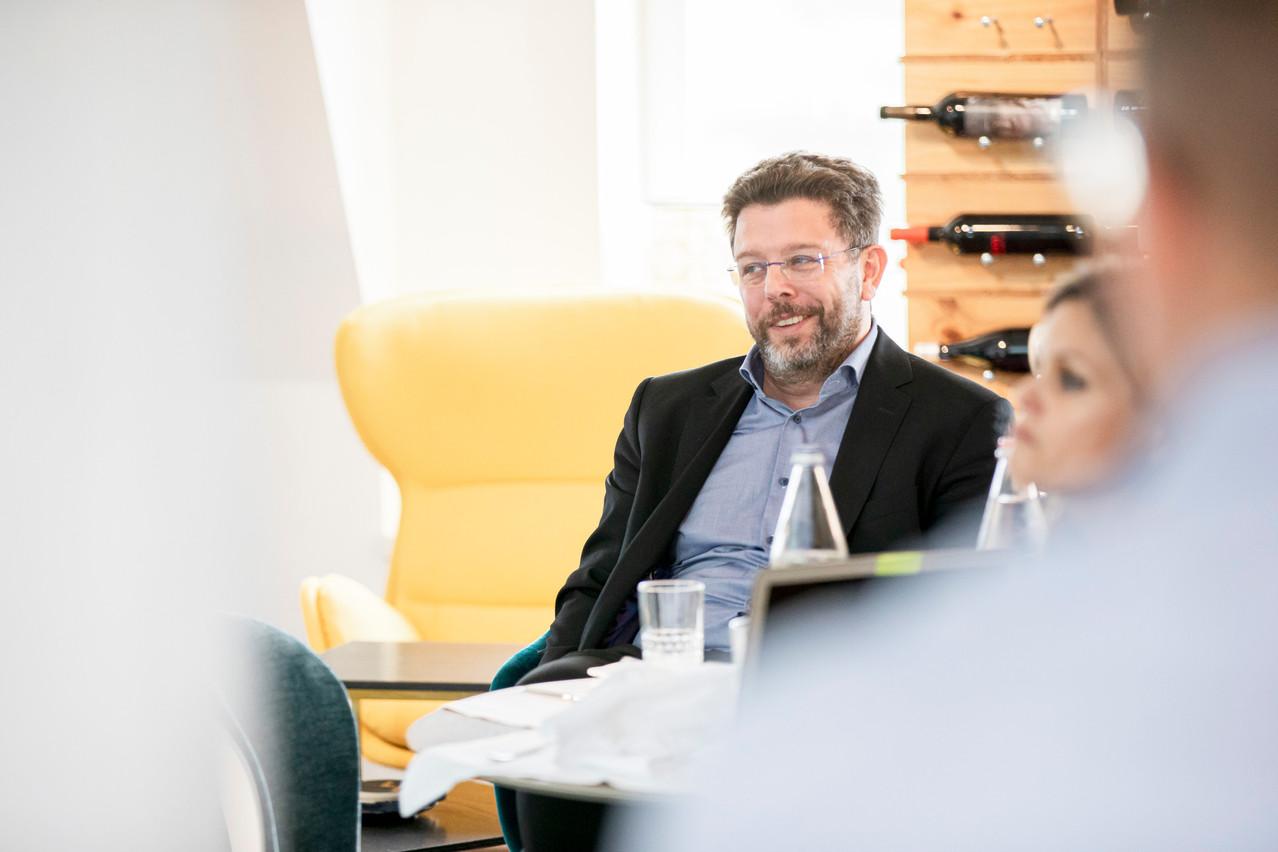 Nicolas Henckes était un des sept membres du jury qui a établi le palmarès du Paperjam Top 100. (Photo: Jan Hanrion/Maison Moderne Publishing SA)