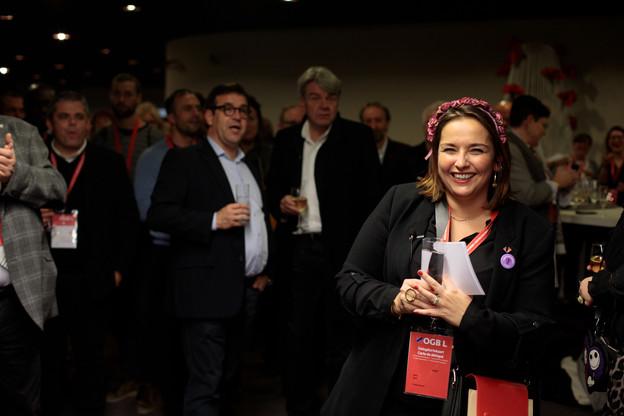 NoraBack a été largement plébiscitée pour occuper la présidence de l'OGBL au cours des cinq années à venir. (Photo: Matic Zorman)