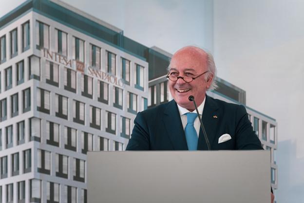 Norbert Becker est administrateur indépendant de nombreuses sociétés, dontIntesa Sanpaolo Holding International. (Photo: Nader Ghavami / Maison Moderne)