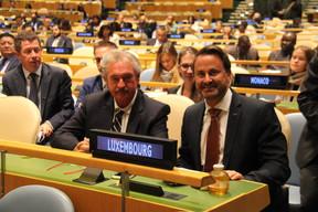 Le chef de la diplomatie luxembourgeoise était accompagné par le Premier ministre dans le cadre de la 74e session de l'assemblée générale des Nations unies. ((Photo: MAEE))