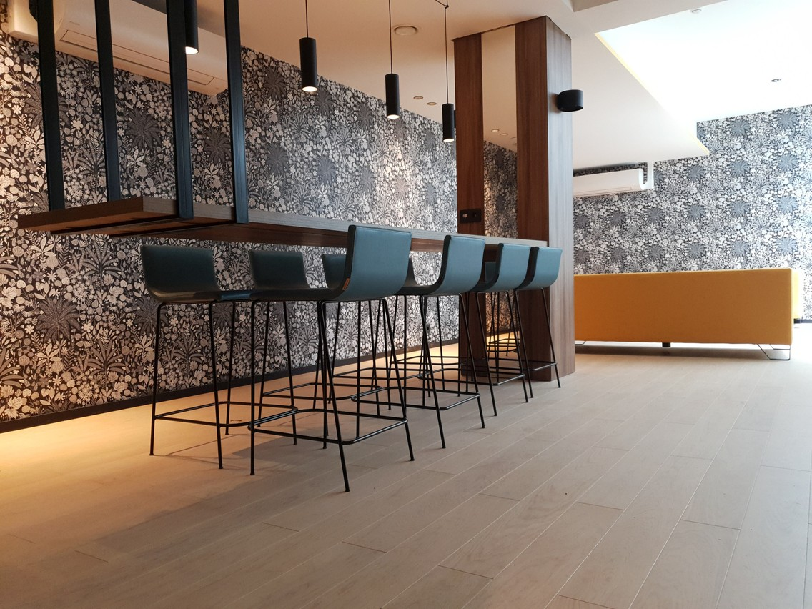 Pour renforcer leur identité et marquer les esprits de leurs locataires, certains établissements mettent l'accent sur le design et l'ambiance au sein de l'immeuble. (Photo: Unicorn)