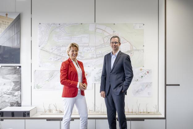 Félicie Weycker et Christian Reding. (Photo: Patricia Pitsch)