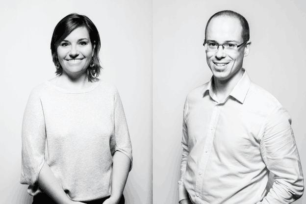 Céline Coubray et Thierry Raizer. (Photo: Maison Moderne)