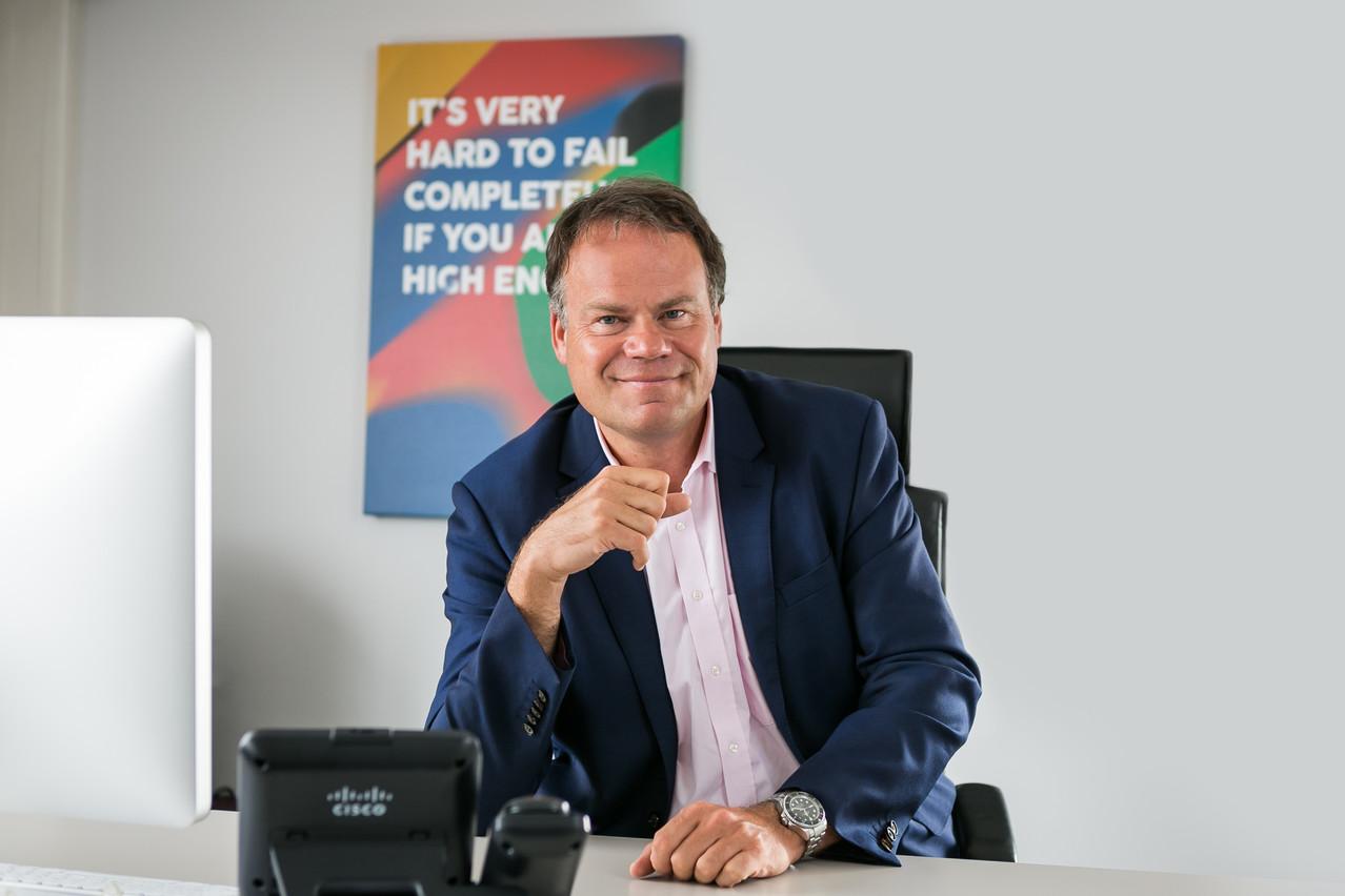 Gérard Hoffmann, CEO de Proximus Luxembourg, qui regroupe les marques Telindus et Tango. (Crédit: Telindus)