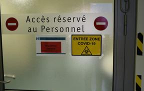 Les Hôpitaux Robert Schuman ont strictement séparé les zones Covid et non-Covid. ((Photo: HRS / Marc Glesener))