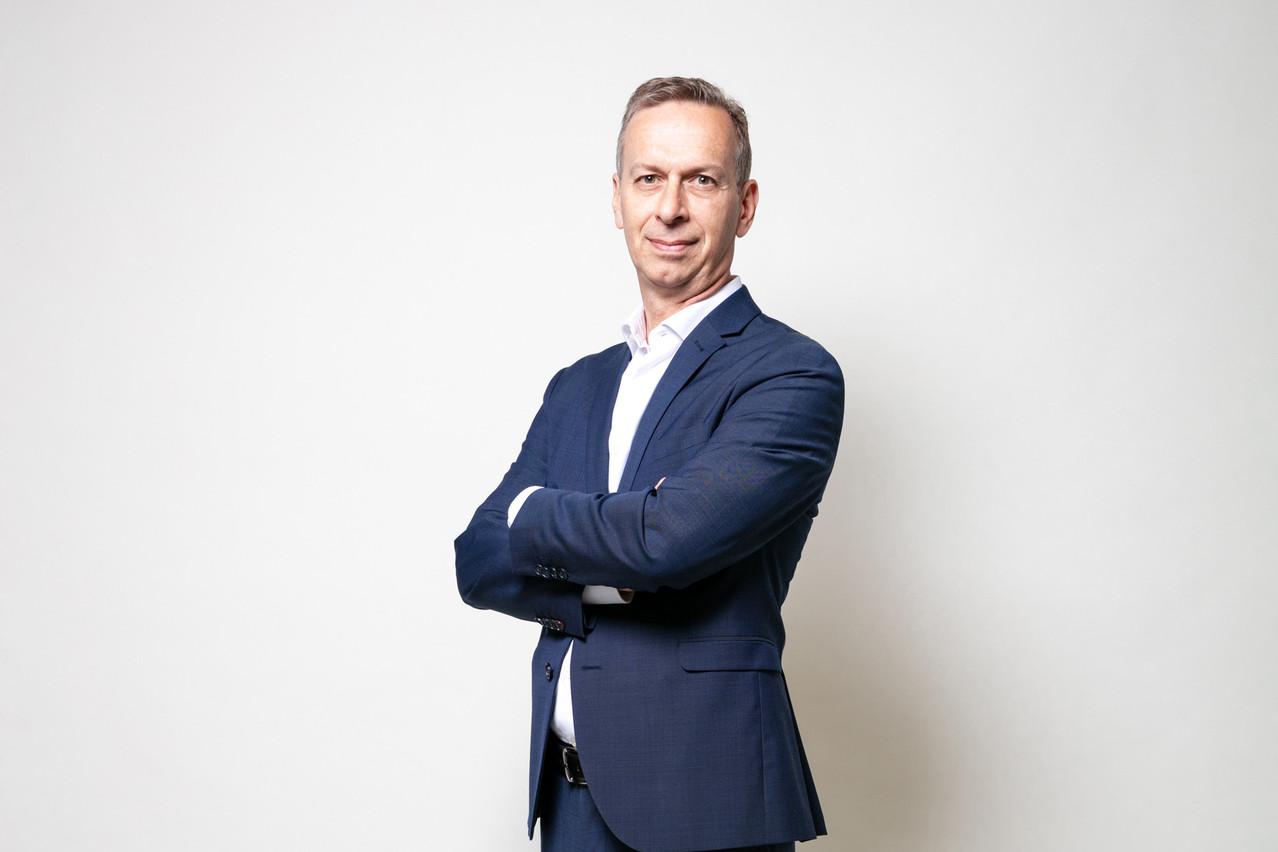 Marc Payal, country leader Luxembourg de Fujitsu. (Photo: Romain Gamba/Maison Moderne)