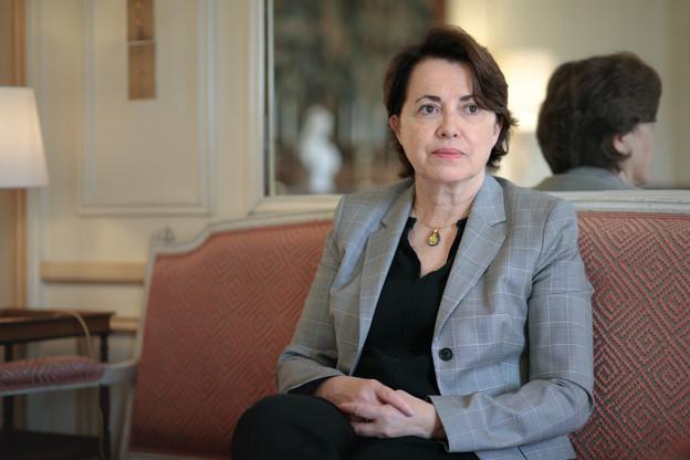 ClaireLignières-Counathe, anciennement en poste en Lituanie, a succédé à BrunoPerdu en devenant la nouvelle ambassadrice de France au Luxembourg. (Photo: Matic Zorman/Maison Moderne)