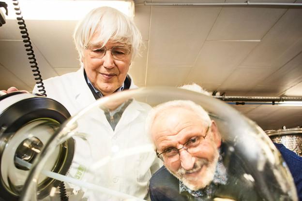 Norbert Eilenbecker (à droite) avec son associé André Steinmetz (à gauche) ont créé la société Cannad'Our il y a 25 ans. (Photo: Andrés Lejona/Maison Moderne)