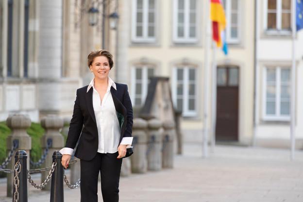 S.A.R. la Grande-Duchesse: « Il y a des traditions au Luxembourg qui sont d'une importance capitale, autant que celles de ma petite enfance. » (Photo: Emanuele Scorcelletti)
