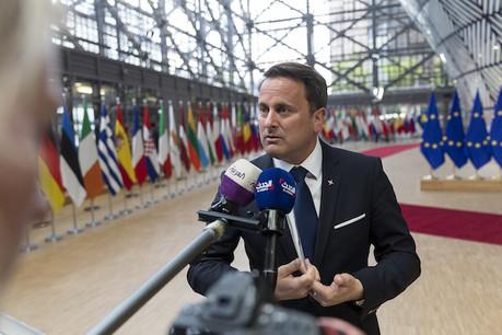 Lors d'une réunion en marge du sommet, le Premier ministre, Xavier Bettel, comme ses pairs libéraux, a apporté son soutien à la candidature de la commissaire européenne à la Concurrence, Margrethe Vestager. (Photo: SIP)