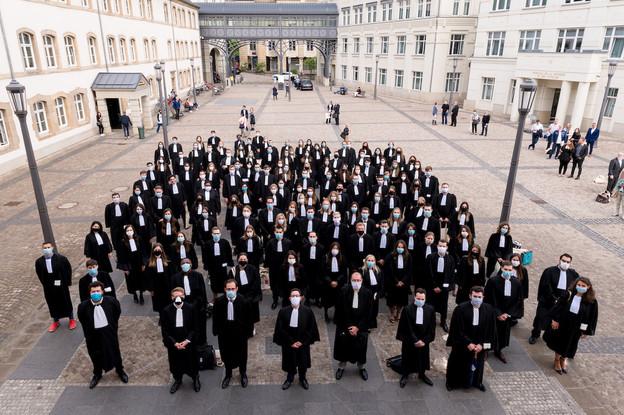 La deuxième assermentation de l'année a fait entrer 127 avocats au Barreau de Luxembourg. (Photo: Marie De Decker)