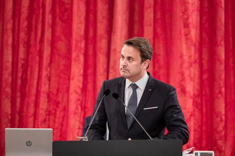 Le Premier ministre a insisté une nouvelle fois sur le respect des gestes barrières aussi dans le cadre privé afin d'éviter de mettre en danger la population et les capacités des hôpitaux. (Photo: Jan Hanrion / Maison Moderne)
