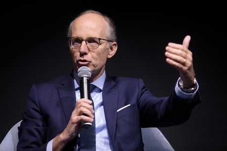 «Le gouvernement luxembourgeois mais également les autres dirigeants européens ont bien joué leur rôle en termes d'action, de communication et de transparence», estime Luc Frieden. (Photo: Matic Zorman/Maison Moderne/archives Paperjam)